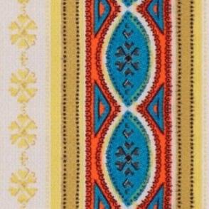 Vintage Italian Stripe Vertical