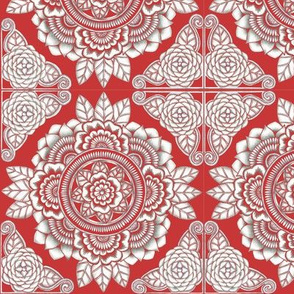 Botanical #14 - Red
