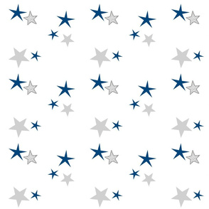 stars 7 - navy gray