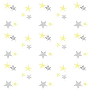 stars 7 - lemon gray
