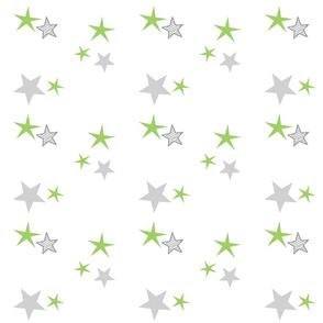 stars 7 - green gray