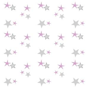 stars 7 - purple gray