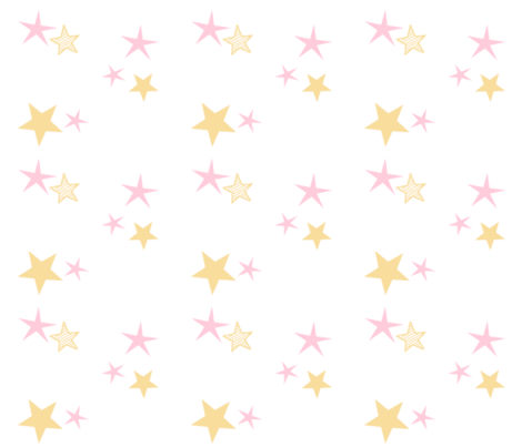 stars 7 - pink cream fabric by drapestudio on Spoonflower - custom fabric