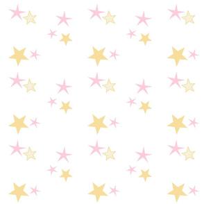 stars 7 - pink cream