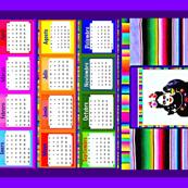 Frida Serape Calendar