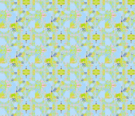 Fractals in Spring fabric by twigsandblossoms on Spoonflower - custom fabric