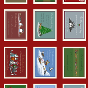 12 Days of Corgi Christmas Placemats