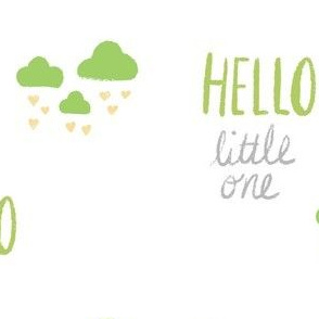 hello little one - green