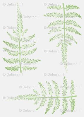 botanical relief print