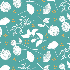 Botany Lesson - Tea Towel