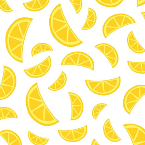 Orange Slices - White