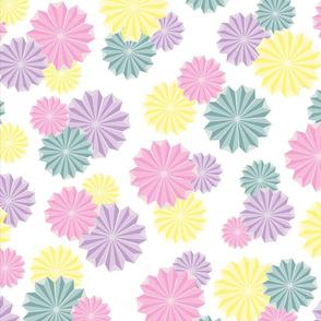 Origami Flowers - Pastel