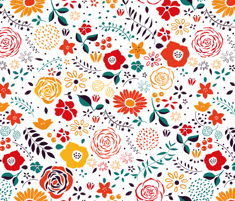 Fresh start fabric by agathests on Spoonflower - custom fabric