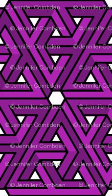 Impossible Triangles - Purple
