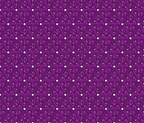 Impossible Triangles - Purple fabric by jenthegeek on Spoonflower - custom fabric