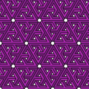 Impossible Triangles - Purple