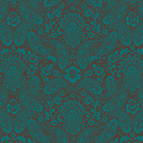 Floral Damask Paisley