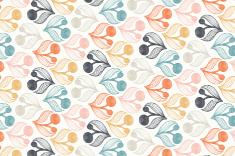Field Work fabric by stefaniewithanf on Spoonflower - custom fabric