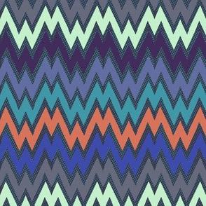 Iris zigzag