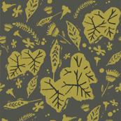 Botanical Autumn Green