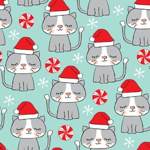 christmas-kitties-on-blue