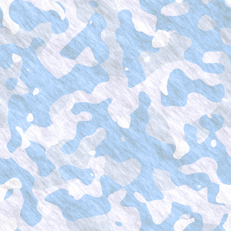 CAMO kid snow day fabric by joanmclemore on Spoonflower - custom fabric