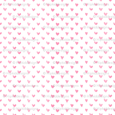 Love Hearts // Pink
