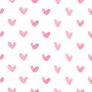 Love Hearts // Pink