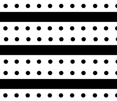 standard_dots_double_barred_large fabric by blayney-paul on Spoonflower - custom fabric