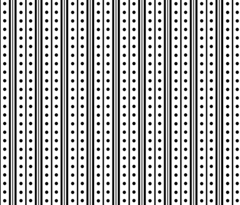standard_dots_double_stripe_small fabric by blayney-paul on Spoonflower - custom fabric