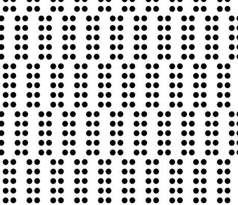 Staggered_Double_Dot_small fabric by blayney-paul on Spoonflower - custom fabric