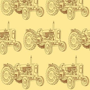 Vintage Farm Tractor Nufield