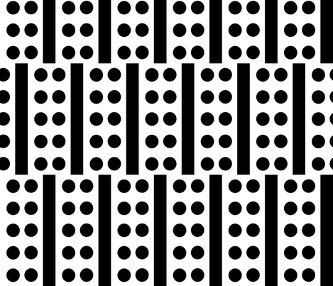 Staggered_Ten_Dot fabric by blayney-paul on Spoonflower - custom fabric