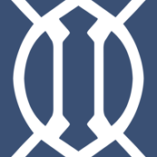 Shibori Blue Trellis