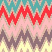 zigzag iris