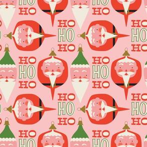 Santa ornaments ~ classic christmas too!
