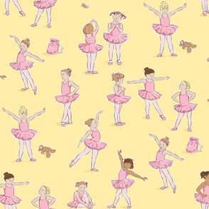 Miss Margot's Ballet Class (on yellow)