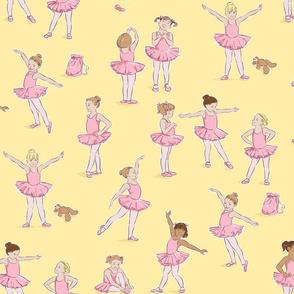 Miss Margot's Ballet Class (on yellow)