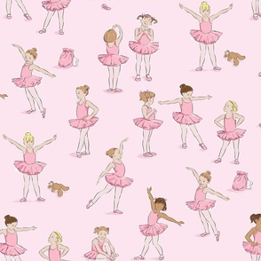 Miss Margot's Ballet Class (on pink)
