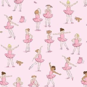 Miss Margot's Ballet Class (on pink)