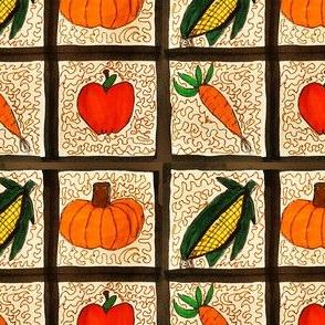 Window farm quilt