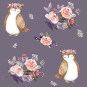 Owl_and_floral_bouquet_lilac_background_shop_thumb
