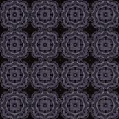 Dark iris tile