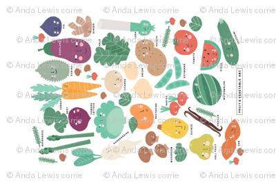 Fruit & Vegetable ABC