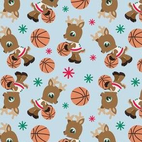 Basketball Reindeer