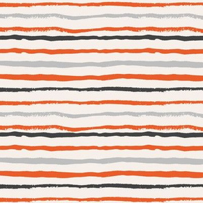 painted stripes fabric