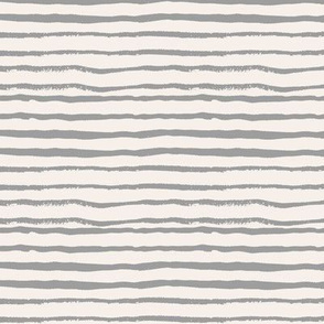 painted stripes fabric - light grey