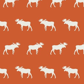 moose fabric - orange