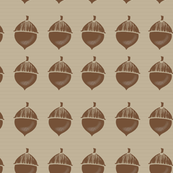 Acorn Wrapping Paper