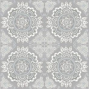 Botanical #14 - Gray on Gray